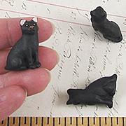 Ceramic Black Cat Bead*