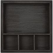 Solo Shadowbox Tray - Black 6x6