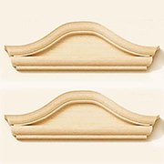 Window Pediment - Bonnet