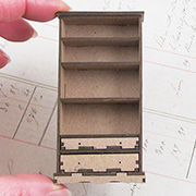 Bookshelf with Drawers - 1:24