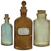 Tim Holtz Apothecary Bottles Die Set
