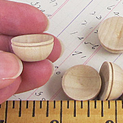 Tiny Wooden Bowls
