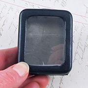 Tiny Black Box with Glass Window*