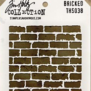 Tim Holtz Stencil - Bricked