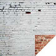 Base Coat Bricks Scrapbook Paper