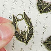 Bronze Bat Pendant*