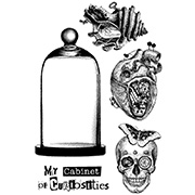 Cabinet Of Curiosities Cling Stamp Set