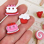 Sweet Tooth Resin Embellishments*