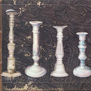 Architextures - Painted Candlestick Collection