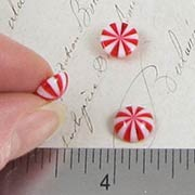 Peppermint Candy Cabochons