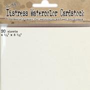 Distress Watercolor Cardstock