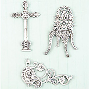Shabby Chic Cast Iron Embellishments