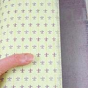 Cavalier Fleur Scrapbook Paper