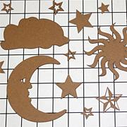 Chipboard Celestial Shape Set*