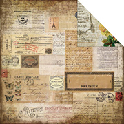 Glamour & Grunge Scrapbook Paper - Charmed Moments