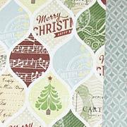 Christmas Cheer Scrapbook Paper