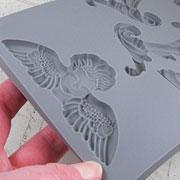 Baroque 5 - Cherub & Filigree Silicone Mold