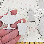 Chipboard Apothecary Silhouettes*