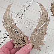 Chipboard Wings Assortment
