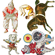 Circus Horse Stickers