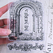 Stone Archway Memories Clear Stamp Set