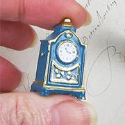 Tall Victorian Mantel Clock