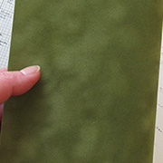 Clover Green Suede Paper