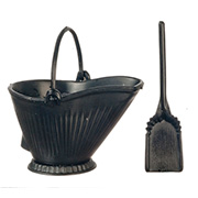 Coal Scuttle Set