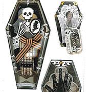 Vintage Coffins Stickers*