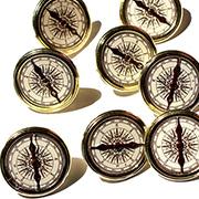 Compass Brads