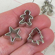 Christmas Cookie Cutter Cabochons