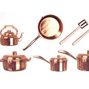 Plastic Cookware Set - Copper
