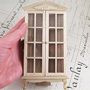 Unfinished Corner Display Cabinet