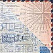 Correspondence 12x12 Paper Stash