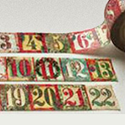 Christmas Countdown Washi Tape*