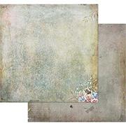 Tattered Garden Scrapbook Paper - Crackles