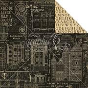 Artisan Style Scrapbook Paper - Craftsmanship
