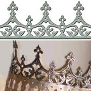 A Gilded Life - Petite Monarch Crown Long Die