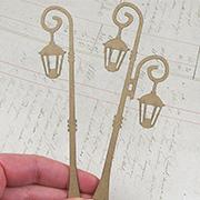 Single & Double Lamp Post Set