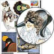 Art Deco Party #2 Collage Sheet