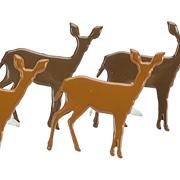 Standing Deer Brads*