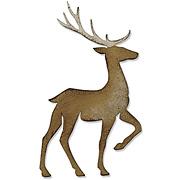 Tim Holtz Prancing Deer Die
