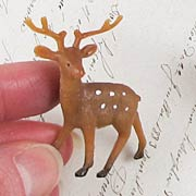 Miniature Set of Reindeer