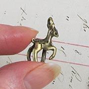 Bronze Deer Charm*