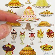 French Desserts Stickers