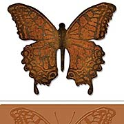 Layered Butterfly Die & Embossing Folder Set