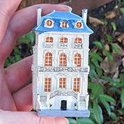 Porcelain Miniature Doll House