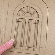 Album with Arched Door*