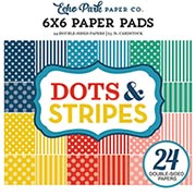 Echo Park Summer Dots & Stripes 6x6 Paper Pad