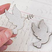 Peace Doves Chipboard Die-Cuts